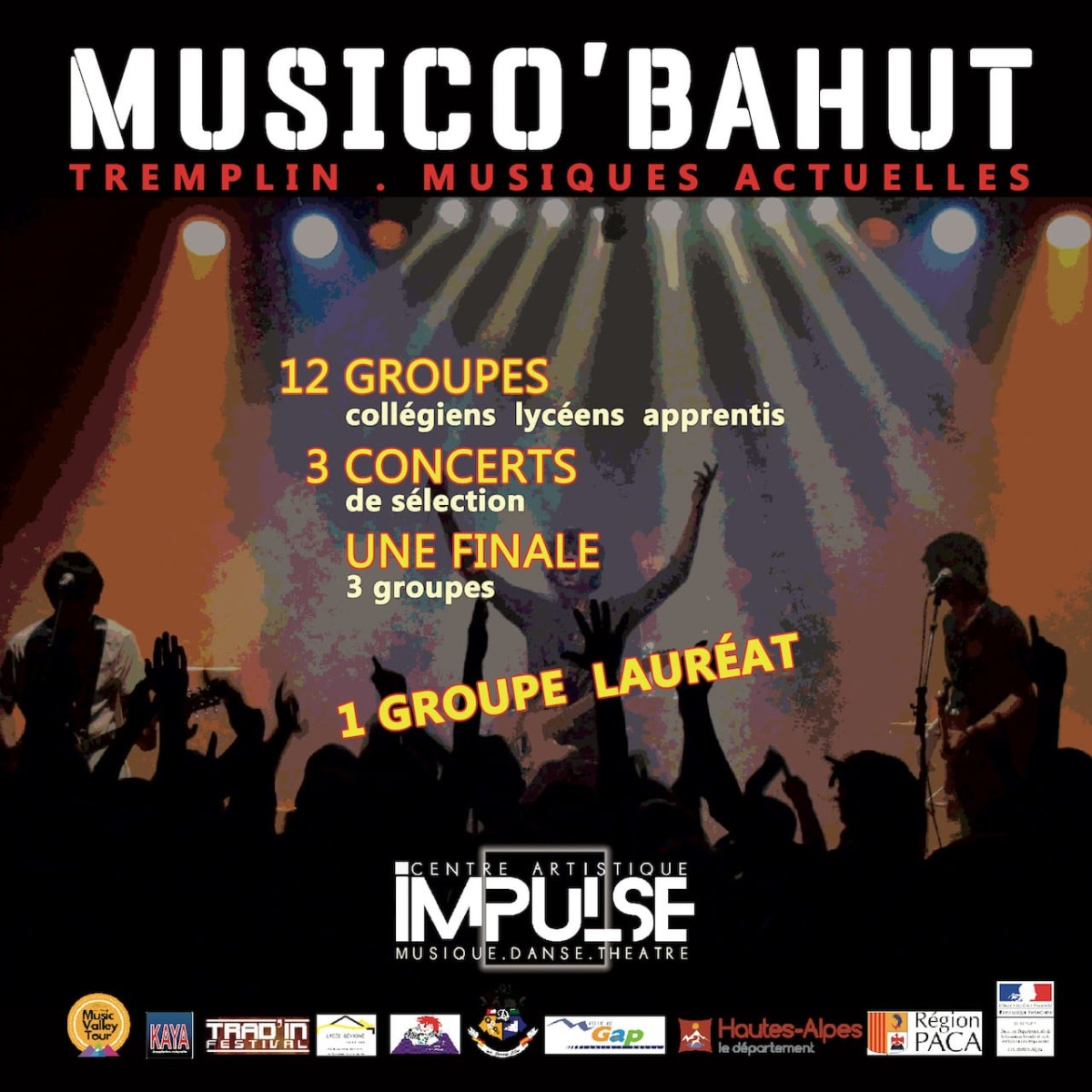 Musico'Bahut Flyer recto