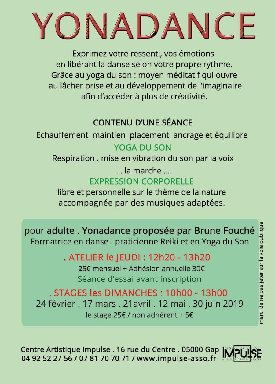 Stage Yonadance IMPULSE 2019