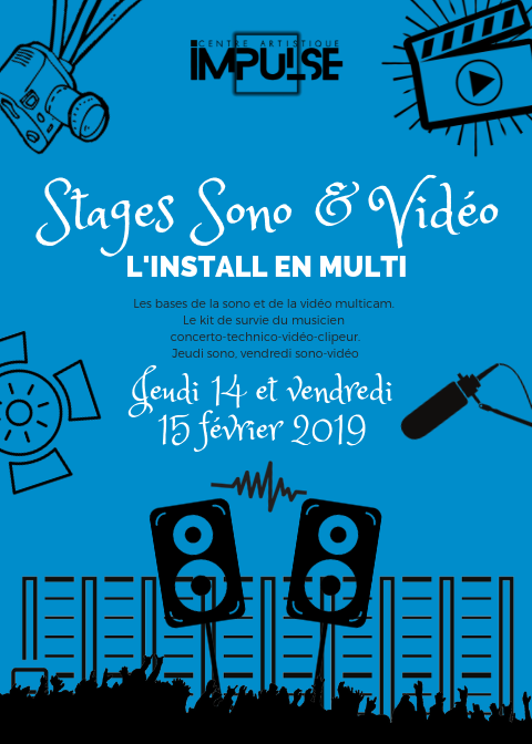 Stages SONO VIDEO avril 2019