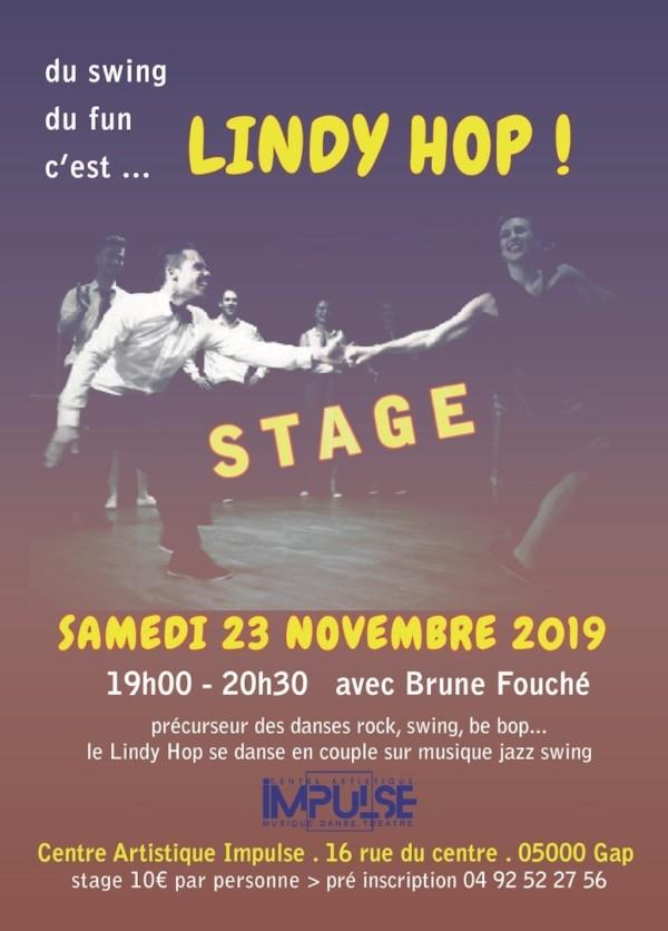 Stage Lindyhop 23-11-2019