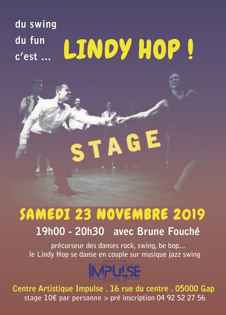 Stage Lindyhop 23-11-2019