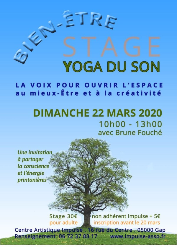 Stage Yoga du son 22mars20