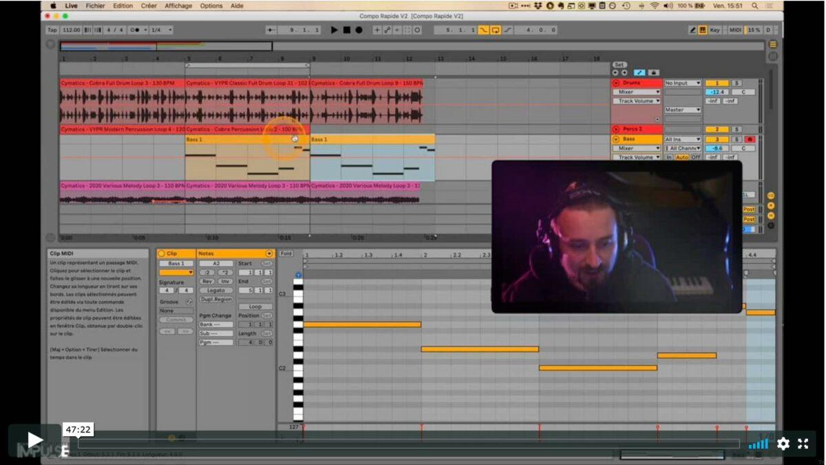 Ableton Live - Compo Rapide