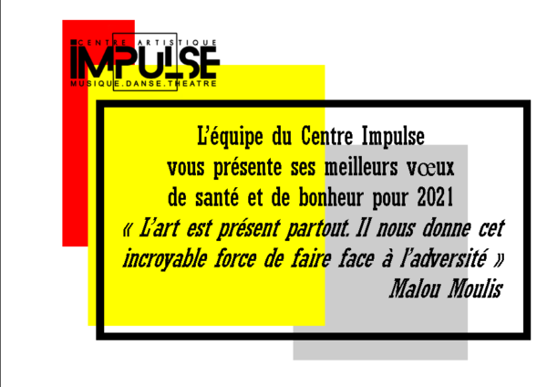 Carte de voeux 2021 Impulse
