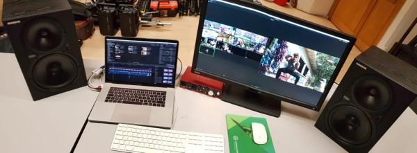 Montage de clip