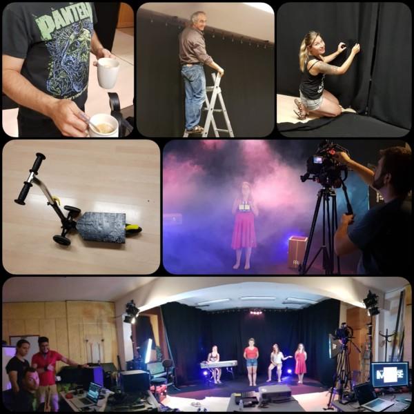 Tournage de clip au studio 1
