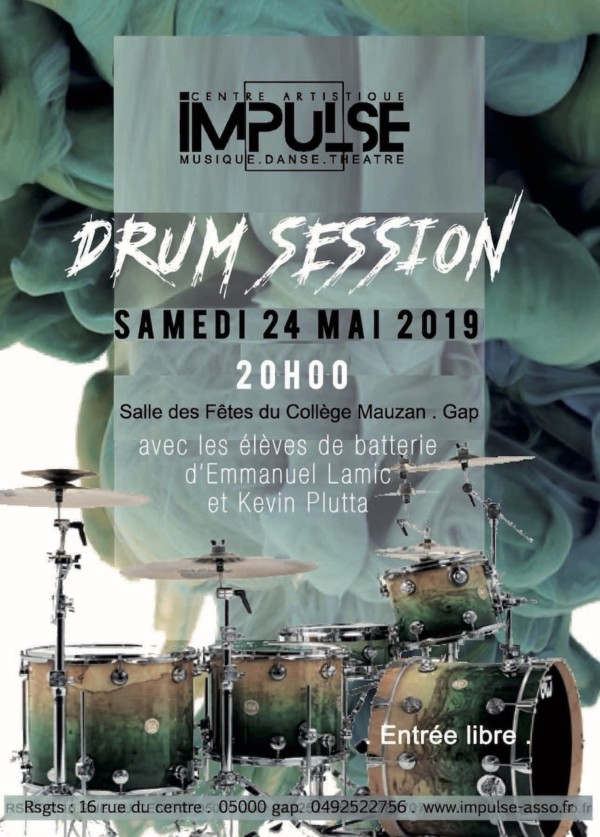 Flyer Drum Session IMPULSE2019