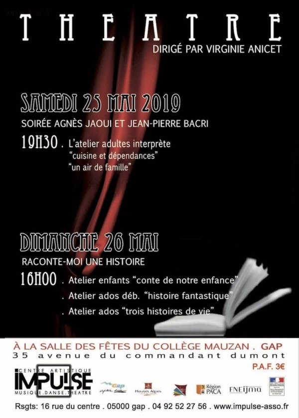 Flyer Théâtre2019 IMPULSE