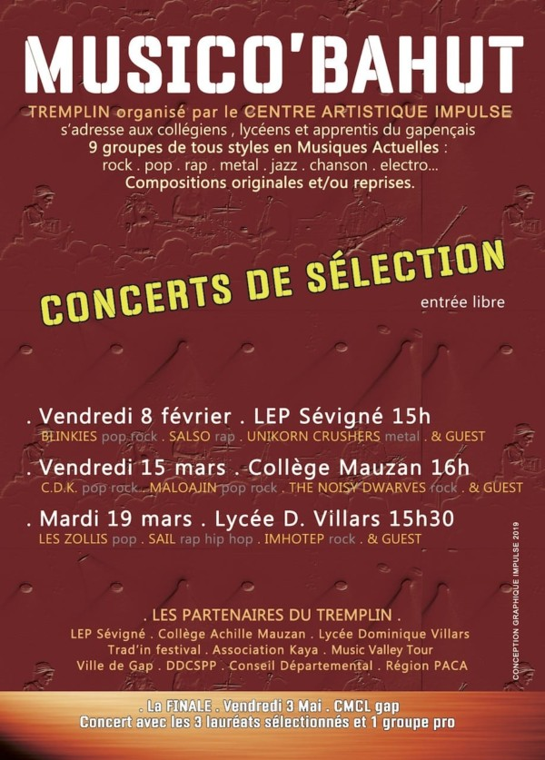 Selections MusicoBahut verso