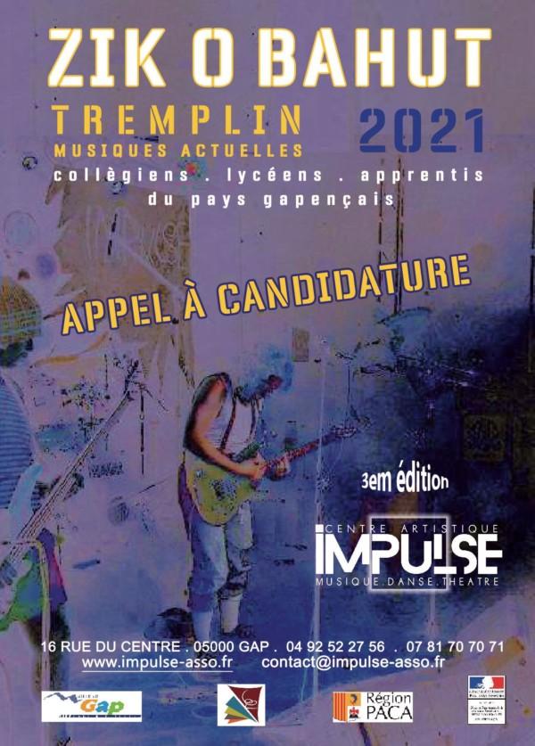 Zik O Bahut 2021 - Appel à candidatures 2021 V2